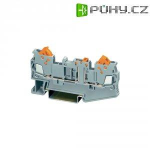 Měřicí oddělovací svorka Phoenix Contact QTC 1,5-MT (3205103), rychlospojka, 5,2 mm, šedá