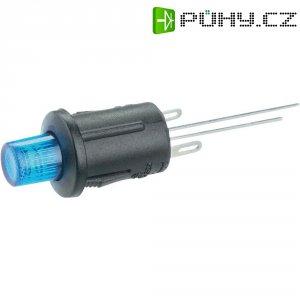 Tlačítkový spínač R13-529BL modrá LED