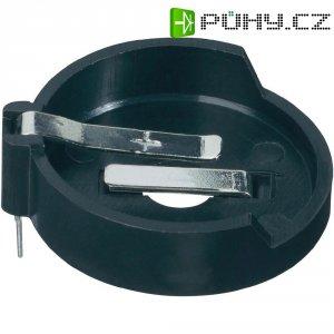 Držák na knoflíkovou baterii CR2320/CR2325/CR2330/CR2354 KZH3, s pájecími kontakty