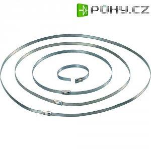Stahovací pásek ocelový 127 x 4,6 mm, 10 ks