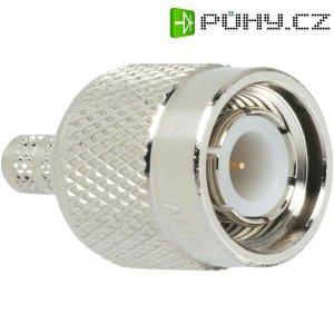 Konektor TNC Amphenol T1121A1-ND3G-1-50, 50 Ω, Delrin, zástrčka rovná