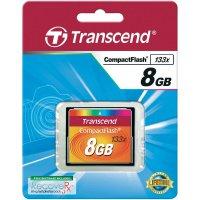 Paměťová karta CF Transcend Standart, 8GB, 133x