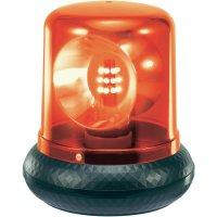 Policejní maják, 230 V, 176 mm, červená