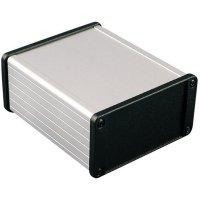 Univerzální pouzdro hliníkové Hammond Electronics, (d x š x v) 160 x 104 x 54,6 mm, černá