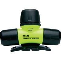 Čelovka LiteXpress Liberty Aqua 1, žlutá/černá (LXL10000W4)