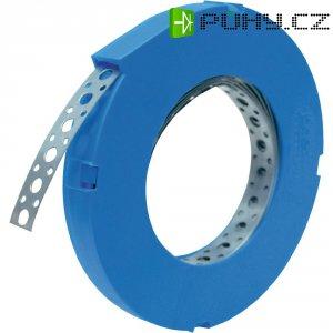 Kovová montážní páska, 17x0,75 mm, 10 m