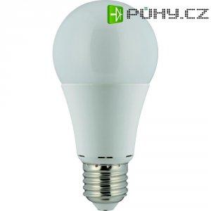 LED žárovka Renkforce, E27, 9,5 W, 230 V, 118 mm, teplá bílá