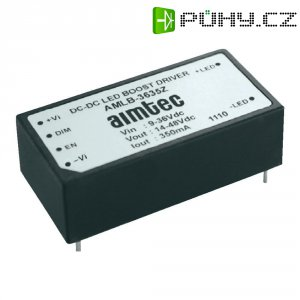Driver power LED Aimtec AMLD-3635IZ, 5 - 36 V, 350 mA, DIP 24