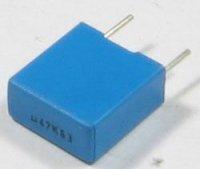 470n/63V TC352, svitkový kondenzátor radiální, RM 7,5mm