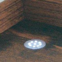 Vestavné LED svítidlo PaulmannUpDown 98797, 6x 1 W, průhledné