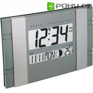 Digitální nástěnné DCF hodiny Techno Line WS 8001, 290 x 190 x 25 mm