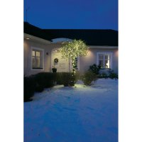 Venkovní vánoční řetěz Konstsmide, 80 LED, teplá bílá