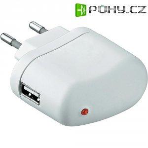USB nabíječka Goobay Tra, 5 W,bílá