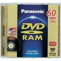 PANASONIC DVD-RAM 2,8 GB 1 KS JC LM-AF60