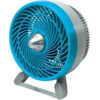 Stolní ventilátor Chillout GF601E4, Ø 18 cm, 31 W, modrá/šedá,