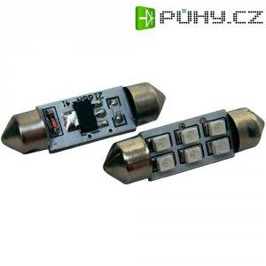 SMD LED sufitka Eufab, 13299, 1 W, S8.5, 41 mm, modrá