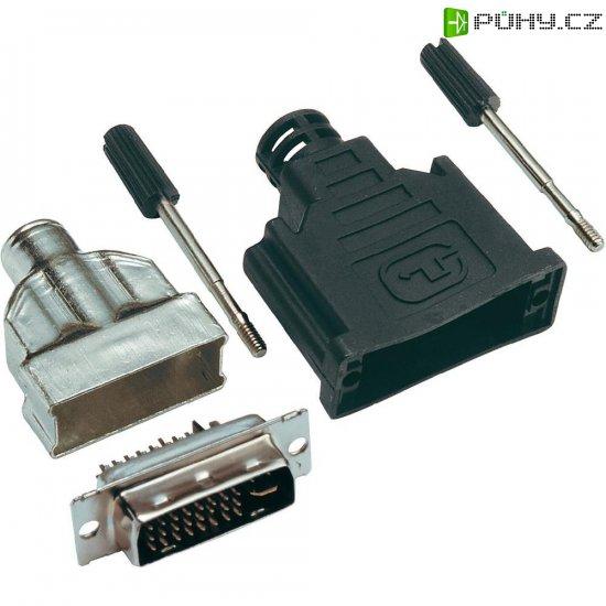 DVI konektor BKL Electronic 908002, 24+5, 29 pól. - Kliknutím na obrázek zavřete