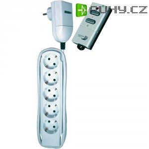Zásuvková lišta s dálkovým ovladačem Home Easy, HE892S, 5 zásuvek