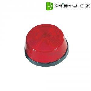 Stroboskopický blikač, červený