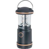 Kempingová svítilna Duracell Explorer 8, černá (LNT-10)