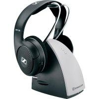 Bezdrátová sluchátka Sennheiser RS 120 II 504779, černá, stříbrná