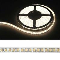 LED pásek 3528 120LED/m IP68 9.6W/m bílá teplá (1ks=cívka 5m) voděodolný