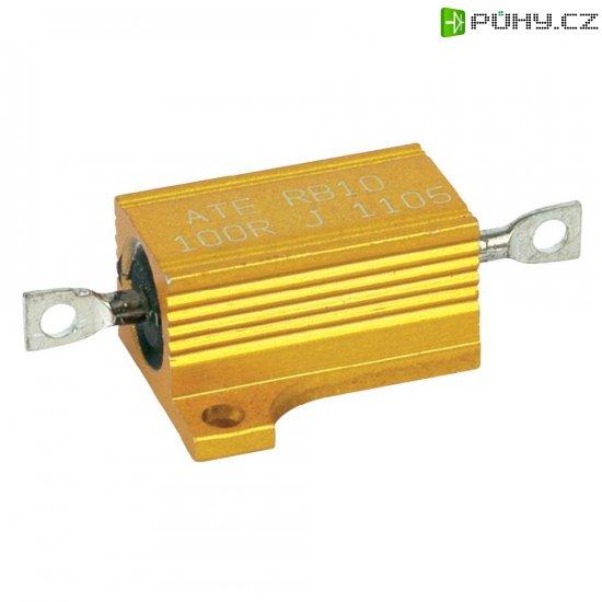 Rezistor ATE Electronics RB10/1-47R-J, 47 Ω, 5 %, axiální vývody, 12 W, 5 % - Kliknutím na obrázek zavřete