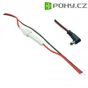 Napájecí kabel zástrčka / otevřený konec BKL 072025, úhlová, 5,5/5,5/2,1 mm, 1,6 m