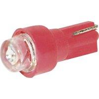 LED žárovka pro osvětlení přístrojů Eufab, 13483, 2 W, B8.5d, červená, 2 ks