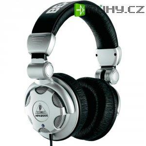 DJ sluchátka Behringer HPX2000 stříbrná, černá