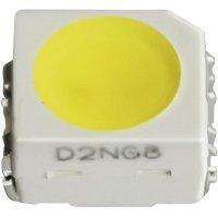 SMD LED PLCC2 Nichia, NESA064T L1 S/T, 20 mA, 3,1 V, 115 °, 690 mcd, jantarová
