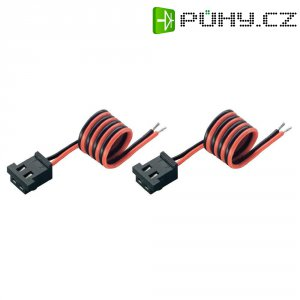 Napájecí kabel vysílače Modelcraft, JR zásuvka, 0,25 mm², 2 ks