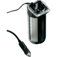 Měnič napětí Hama Safety 100 W, 100 W, 12 V/DC (10 - 15 V/DC), vhodný do držáku na nápoje