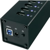 USB 3.0 hub s adaptérem, 7-portový