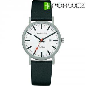 Ručičkové náramkové hodinky Danish Design, 3316291, kožený pásek