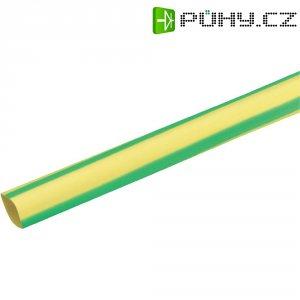 Smršťovací bužírka (1 m) 9/3 mm - žlutozelená