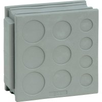 Průchodka Icotek DT 3 (41520), IP54, 42 x 41,5 mm, šedá