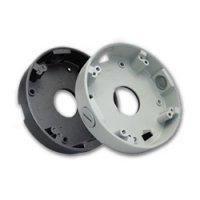 Prstencová základna DB30-G pro dome kamery DNJ30/DVJ30, montážní box s odsazením dome kamer od stěny/stropu, černá, 120mm