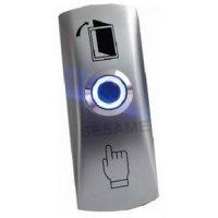 SESAME SB805L, odchodové tlačítko, povrchová montáž, kontakty NO, LED podsvícení