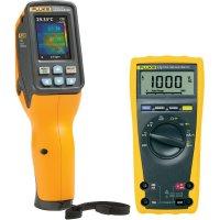 IR teploměr Fluke VT02 + digitální multimetr Fluke 175