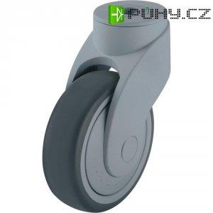 Plastové otočné kolečko Wave se závitem pro šroub, Ø 100 mm, Blickle 744738