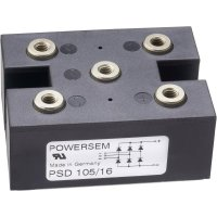 Můstkový usměrňovač 1fázový POWERSEM PSB 125-16, U(RRM) 1600 V