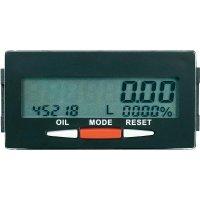 Panelový měřič spotřeby oleje Voltcraft DOM-100, 68 x 34 mm