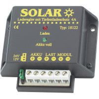 Solární regulátor nabíjení 12/24 V/4 A
