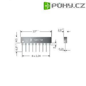 Usměrňovací diodové pole Diotec DA8110A, U(RRM) 1000 V, 8 x 150 mA