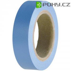 Izolační páska HellermannTyton HelaTapeFlex 15, 710-00100, 15 mm x 10 m, modrá