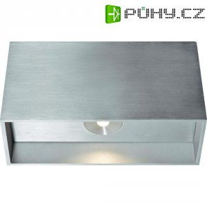 Nástěnné LED svítidlo Soria, LSWL1662, 2x 6,6 W, stříbrná/šedá