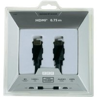 Sound and Image High Speed HDMI kabel s Ethernetem, 0,75 m
