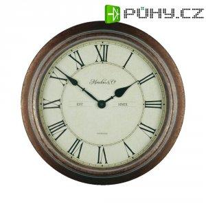 Analogové nástěnné hodiny WT 7006, Ø 36 x 7 cm, vodotěsné