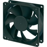 Voděodolný axiální ventilátor Conrad Components RD8025B12M 189135, 12 V/DC, 80 x 80 x 25 mm